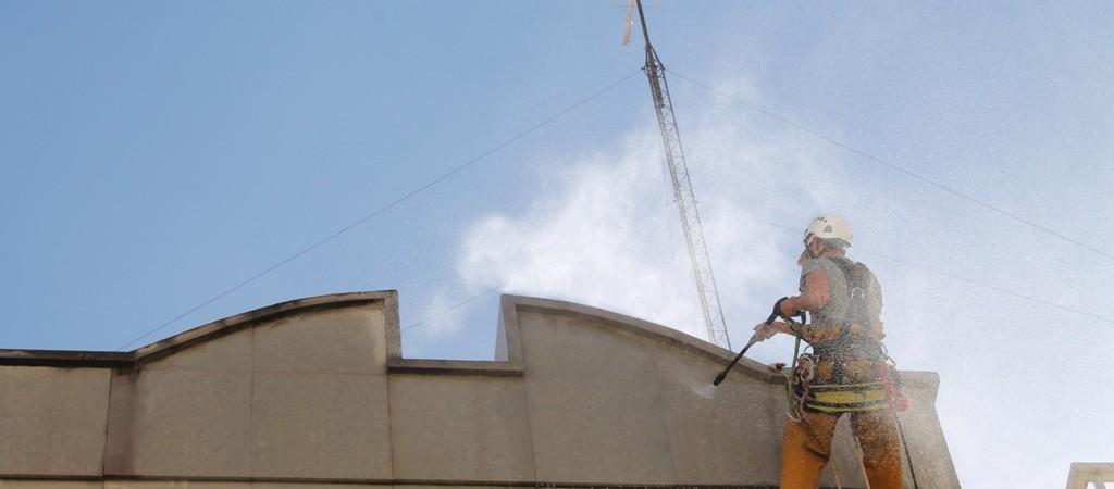 Limpieza de fachada en Albacete.